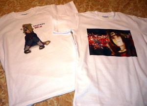 Изготовленные нами футболки с фото в Ростове-на-Дону.