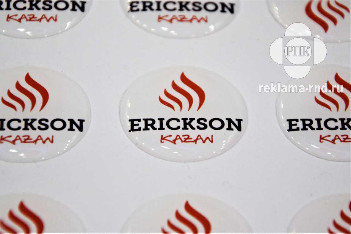 Объемные этикетки используются для брендирования товаров и услуг